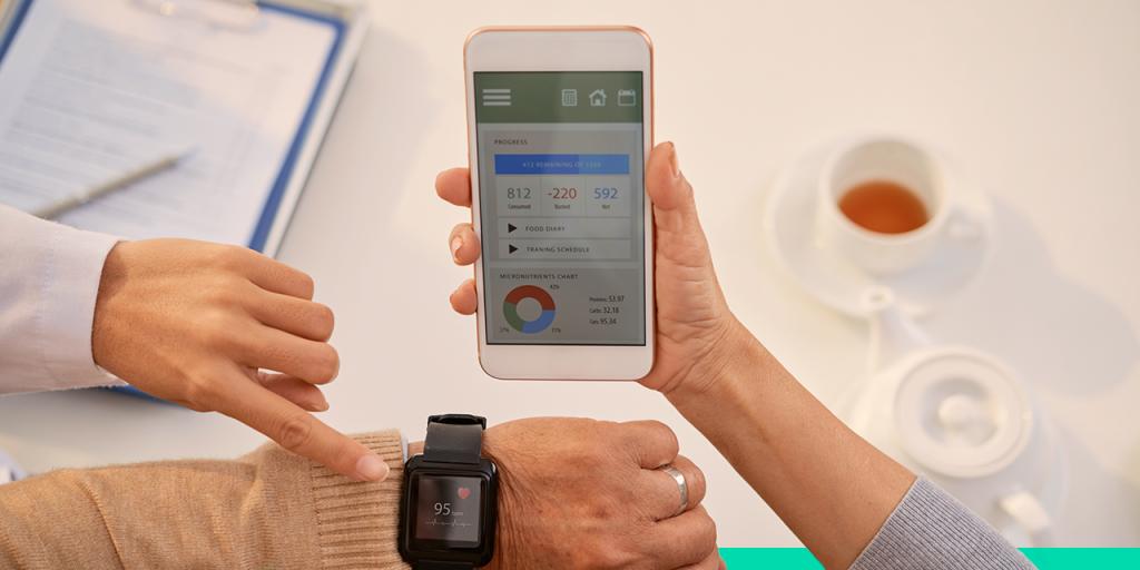 tendência health mobile app