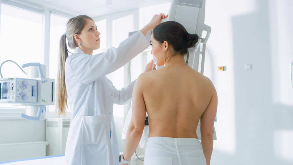 telemedicina auxiliando no laudo de mamografia