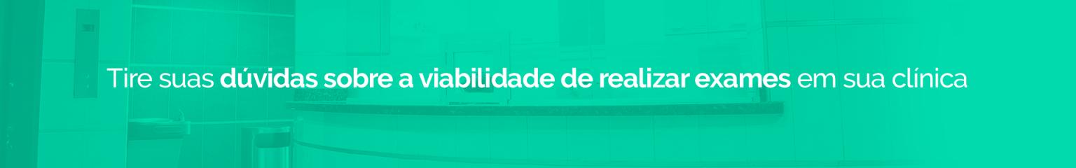 """Banner no artigo """"Ressonância Magnética"""" para dúvidas sobre viabilidade de realização de exames"""