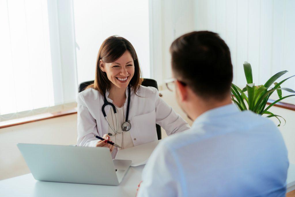 pós-consulta médica