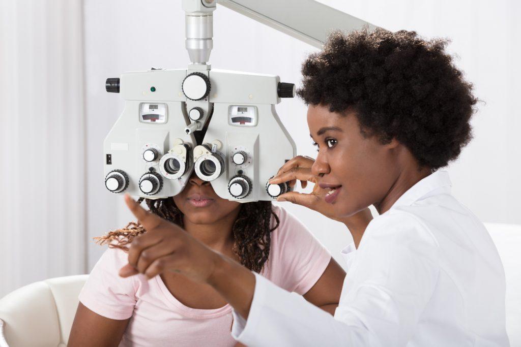 laudo de acuidade visual